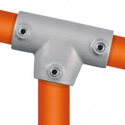 Buiskoppeling Lang T-stuk 0-11 graden Multiklemp