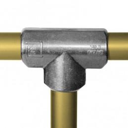 Aluminium buiskoppeling Lang T-stuk merk Kee Lite