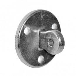 Aluminium buiskoppeling Voetplaat Scharnierkoppeling merk Kee Lite