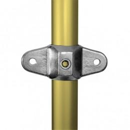 Aluminium buiskoppeling Dubbel Oogdeel voor Scharnierstuk merk Kee Lite