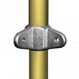 Aluminium buiskoppeling Dubbel Oogdeel 90 graden voor Scharnierstuk merk  Kee Lite