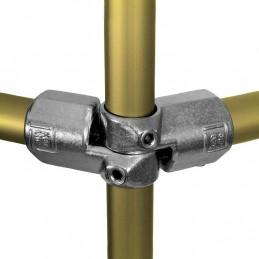 Aluminium buiskoppeling Verstelbaar Hoekstuk, per set van 2, merk Kee Lite
