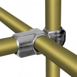 Aluminium buiskoppeling Combi T-Kruiskoppeling merk  Kee Lite