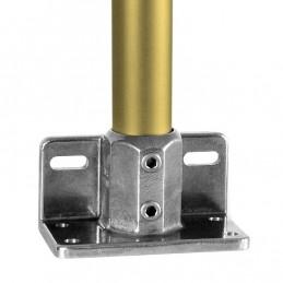 Aluminium buiskoppeling Schoprandvoetplaat merk Kee Lite