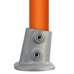 Buiskoppeling Ovale Voetplaat 0-11 graden merk Multiklemp