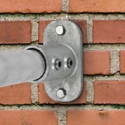 Schijnwerper LED aan een muur bevestigd