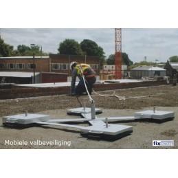 Mobiele Valbeveiliging voor een dak