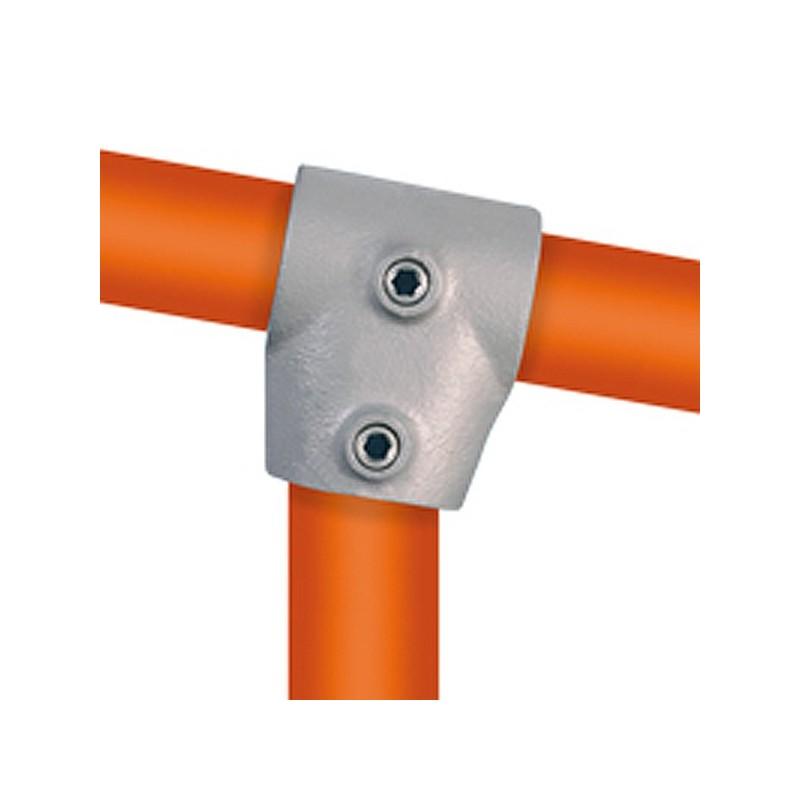 Buiskoppeling Kort T-stuk 0-11 graden Multiklemp