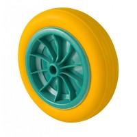 Lekvrij wiel voor kruiwagen, steekwagen, bolderkar te gebruiken.