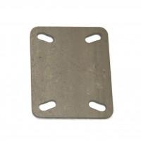 Lasschetsplaat voor zwenkwielen van Fixmetaal is duurzaam!