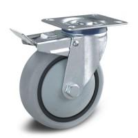 Apparaat wielen hebben een breder loopvlak en een groot draagvermogen.