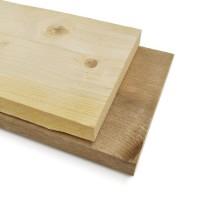 Gedroogd steigerhout is prima geschikt om steigermeubels mee te maken